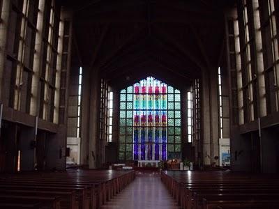 Holy Family Basilica Cathedral Kenya Interior