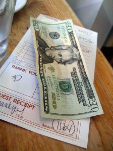 diner receipt
